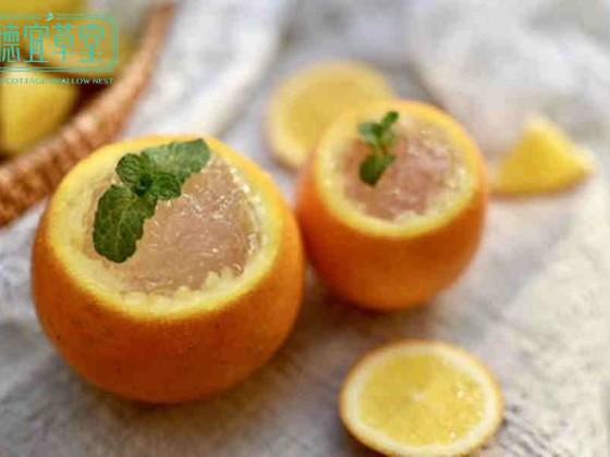 牛奶橙子燕窝的做法