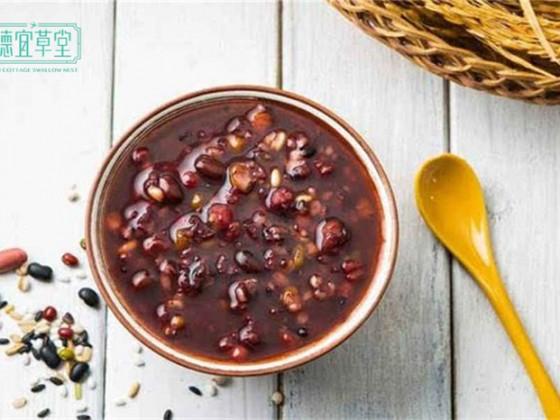红豆芡实燕窝粥的做法