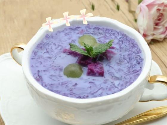 紫薯燕窝的做法教程