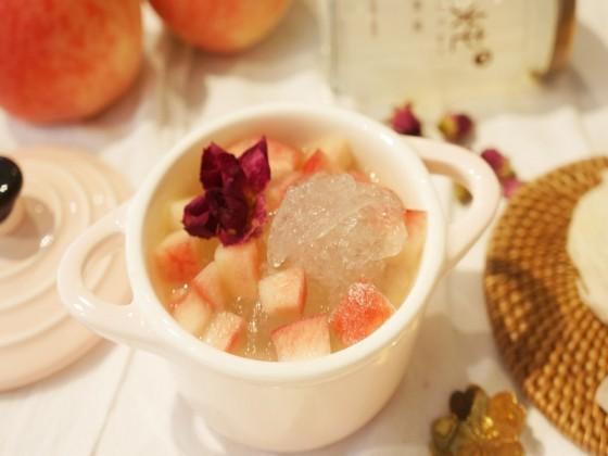 孕妇能吃水蜜桃炖燕窝吗