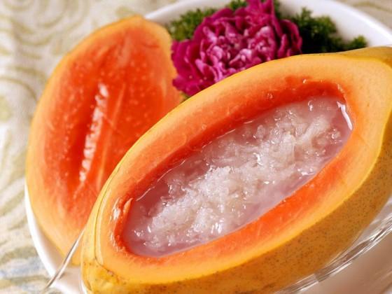 减肥能吃燕窝炖木瓜吗