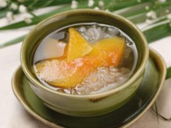 红糖燕窝木瓜粥的做法