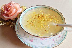 桂花蜂蜜炖燕窝的做法