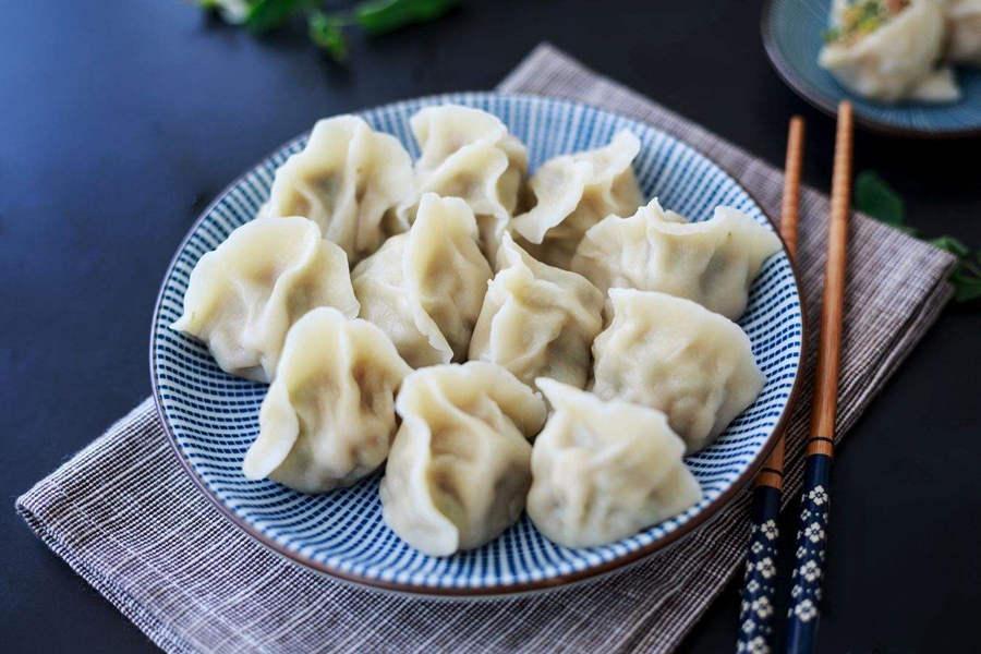 怀孕的人吃什么素饺