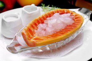 木瓜冰糖枸杞炖燕窝的做法