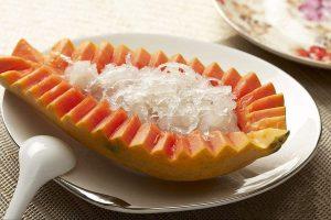 木瓜雪莲炖燕窝做法
