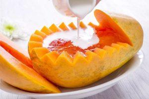 香草牛奶木瓜炖燕窝的做法