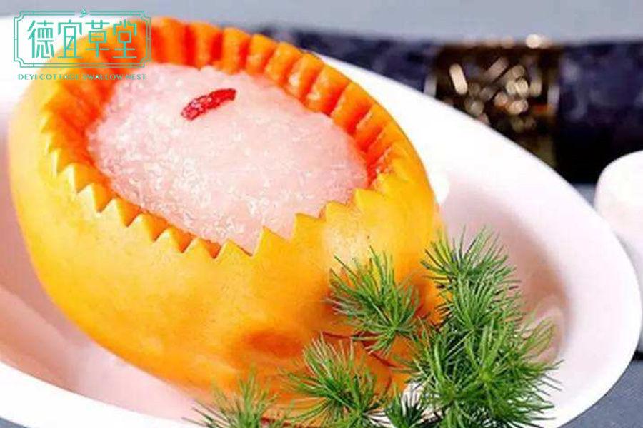 木瓜雪蛤燕窝能丰胸吗