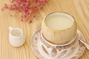 原只椰汁炖燕窝的做法