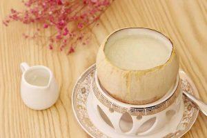 椰子白果炖燕窝的做法